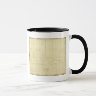 Mug Contour de carte du monde