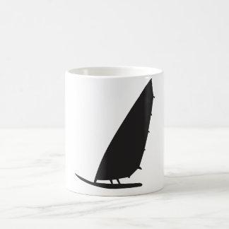 Mug contour de planche à voile
