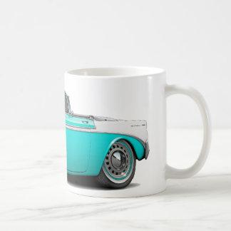 Mug Convertible 1956 Turquoise-Blanc de Chevy Belair