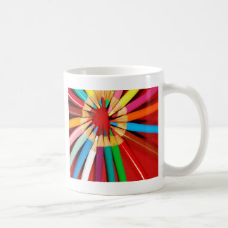 Mug Copie colorée de crayons de crayon