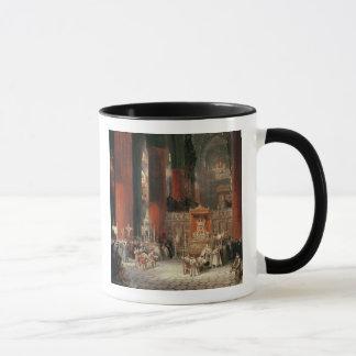 Mug Cortège dans la cathédrale de Séville, 1833 (huile