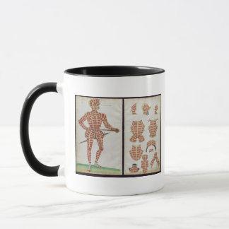 Mug Costume d'armure pour le duc de Worcester, 1589