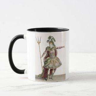 Mug Costume pour Neptune dans plusieurs opéras, gravé