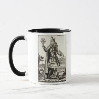 Mug Costume pour un astrologue, pub. par Gerard Valck