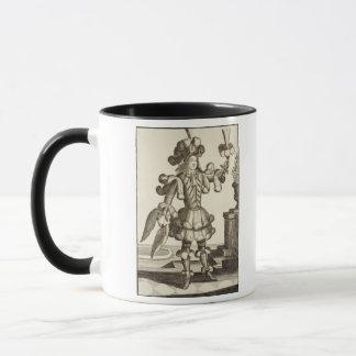 Mug Costume pour un marchand de plume, pub. par Gerard