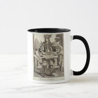Mug Costume pour un tailleur, pub. par Gerard Valck