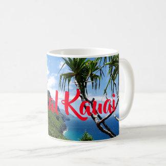 Mug Côte tropicale Hawaï de Nepali de Kauai