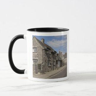 Mug Cottages, village de château de Corfe, Dorset,