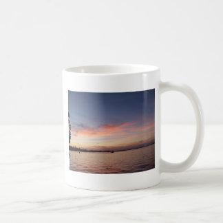 Mug Coucher du soleil au-dessus de baie de la Floride,