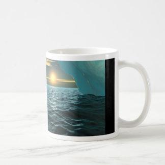 Mug Coucher du soleil au-dessus de glace