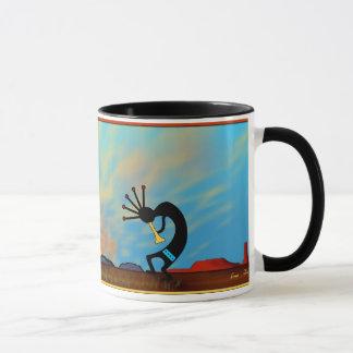 Mug Coucher du soleil de désert de sud-ouest