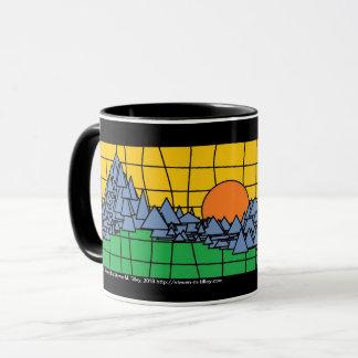 Mug Coucher du soleil de montagne