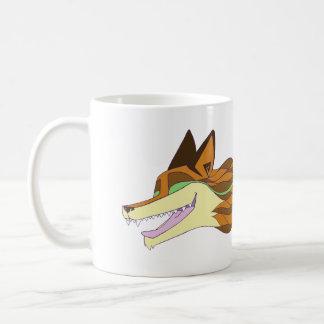Mug Couleur originale vivante de Fox d'une manière