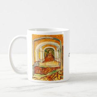 Mug Couloir dans l'asile par Vincent van Gogh