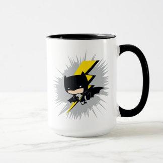 Mug Coup-de-pied de foudre de Chibi Batman