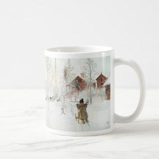 Mug Cour de Carl Larsson et la Chambre de lavage