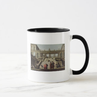 Mug Cour de château, 1762