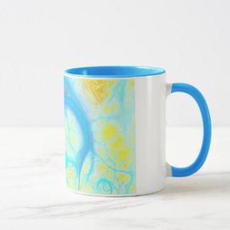 Mug Courants de joie - Aqua et citron cosmiques