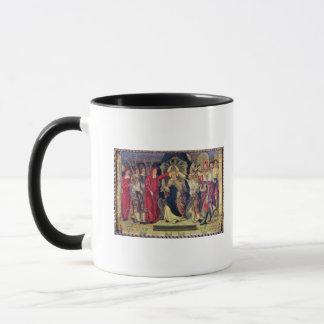 Mug Couronnement de pape Celestine V en août 1294