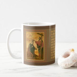 Mug Couronnement de St Joseph par Jésus Memorare