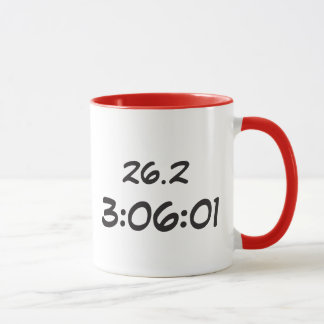 Mug Courrier-Marathon de marathon du Wisconsin
