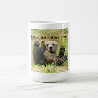 Mug Coutume brune mignonne de photo de petit animal