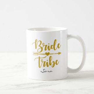 Mug Coutume de mariage d'or de tribu de jeune mariée