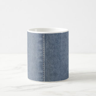 Mug Couture bleu-clair de denim