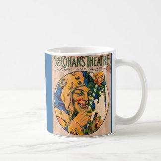 Mug couverture d'affiche du théâtre de Cohan des