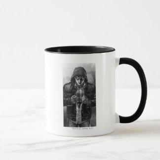 Mug Couverture de la terre de Superman - noire et