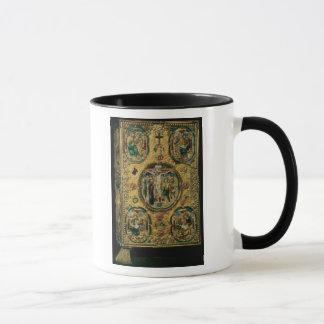 Mug Couverture d'évangile, or avec le repousse