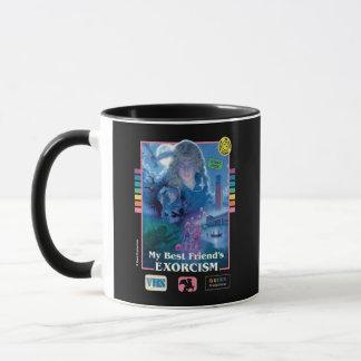 Mug Couverture vintage de VHS de l'exorcisme de mon