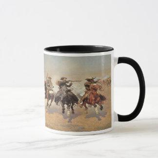 Mug Cowboys vintages, un tiret pour le bois de
