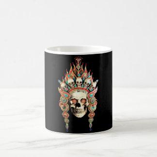 Mug Crâne avec la coiffe tibétaine