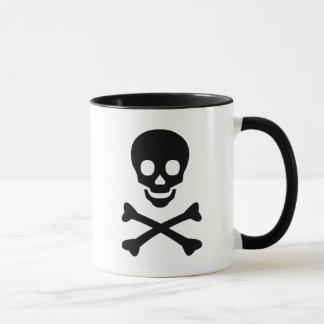 Mug Crâne et os croisés