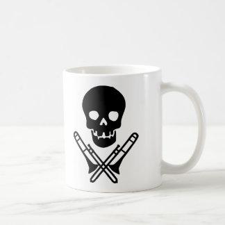Mug crâne et trombones