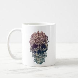 Mug Crâne floral
