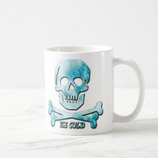 Mug Crâne glacé et os croisés