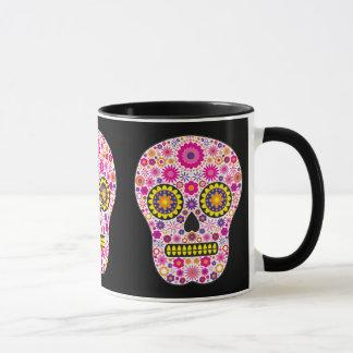 Mug Crâne mexicain rose de sucre
