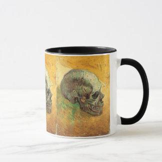 Mug Crâne par Vincent van Gogh, impressionisme vintage
