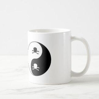 Mug Crânes de Yin et de yang