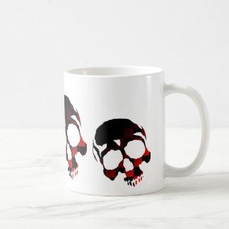 Mug Crânes rouges