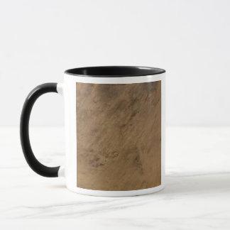 Mug Cratère de Tenoumer en Mauritanie