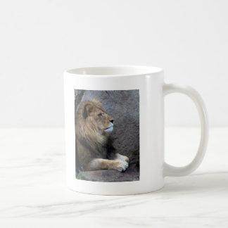 Mug crayon de lion