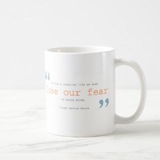 Mug créativité + desserrez notre crainte