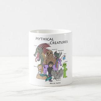 Mug Créatures mythiques - pirate informatique moral -