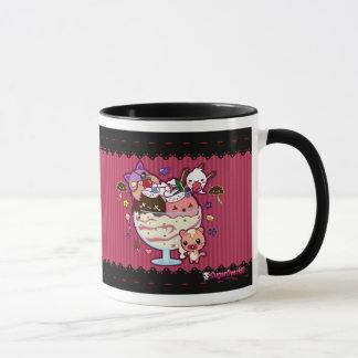 Mug Crème glacée de Kawaii attaquée !
