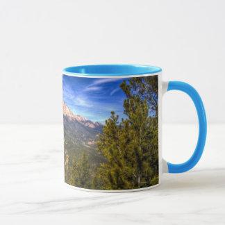 Mug Crête de brochets et ciel bleu
