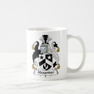 Mug Crête de famille d'Alexandre