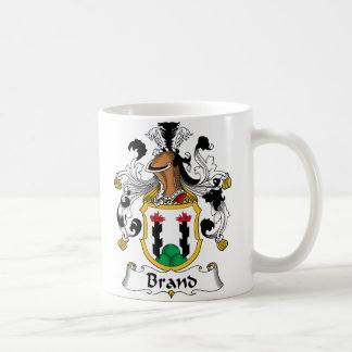 Mug Crête de famille de marque